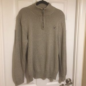 AE Outfitters | 1/4 Zip Long Sleeve Sweater, Sz XL